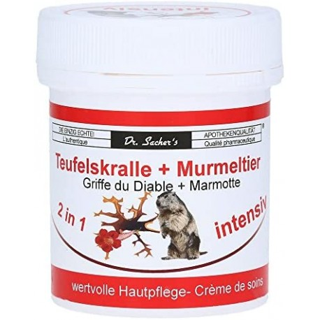 Teufelskralle + Murmeltier Creme 125 ml